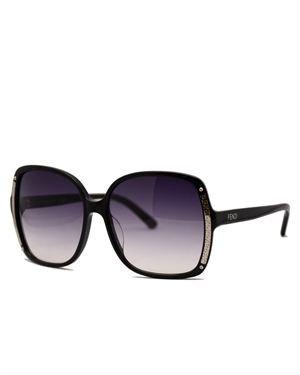 Fendi FS5098001 Oversized Square Sunglasses Made in Italy