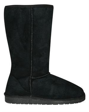 Dawgs Long Microfibre Faux Shearling Boots