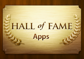 Hall of Fame - Apps