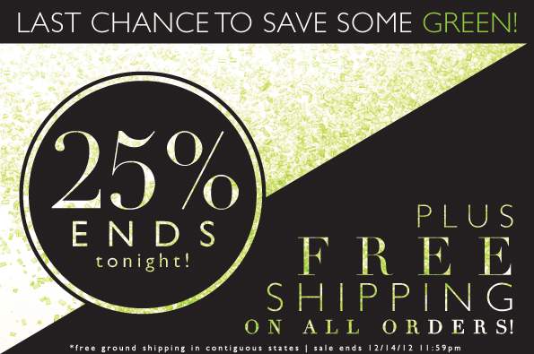 Last Chance To Save Some Green!