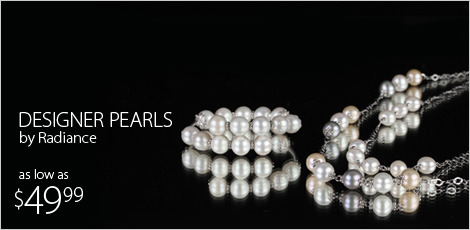 Designer pearls by Radiance