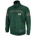 Green Bay Packers Green Tailgate Time II Performance Full-Zip Jacket