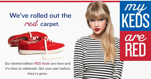 My Keds Are Red