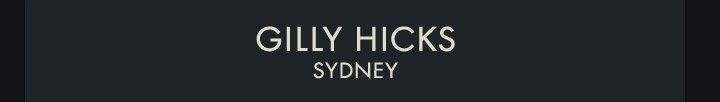Gilly's Sydney