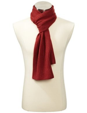 Williams Cashmere <br/>Solid Knit Scarf