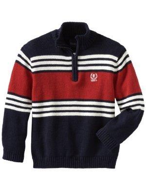 Izod <br/>Center Stripe Sweater