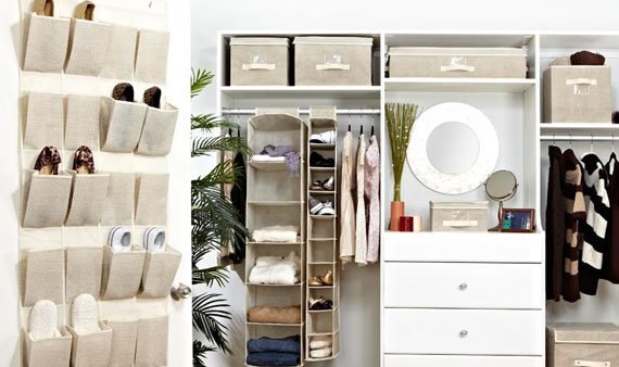 Neutrals Closet Organization Under $65 - Visit Event