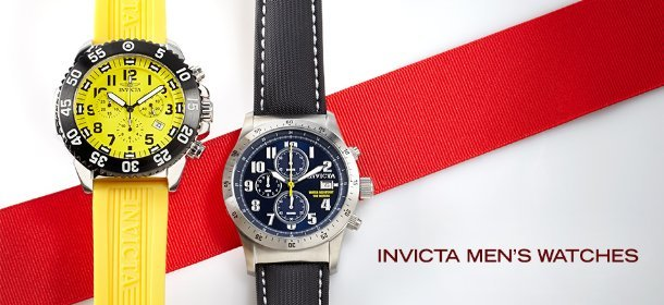 INVICTA MEN'S WATCHES, Event Ends December 18, 9:00 AM PT >