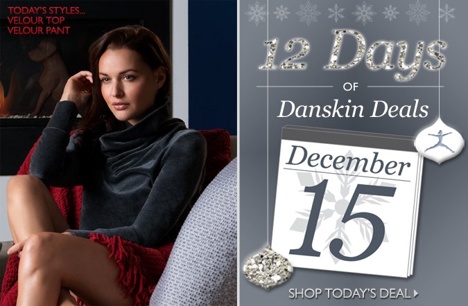 Shop the 12 Days of Danskin Deals | Up to 50% Off One Item Everyday!