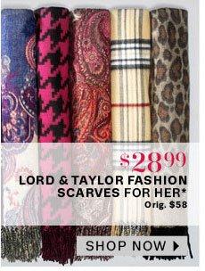 LT Fashion scarves for her