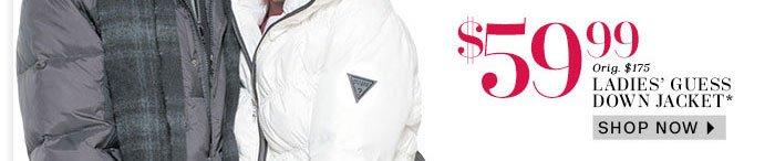 Ladies' Guess Down Jacket