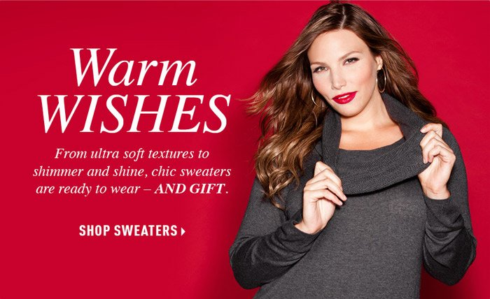 SHOP SWEATERS  »