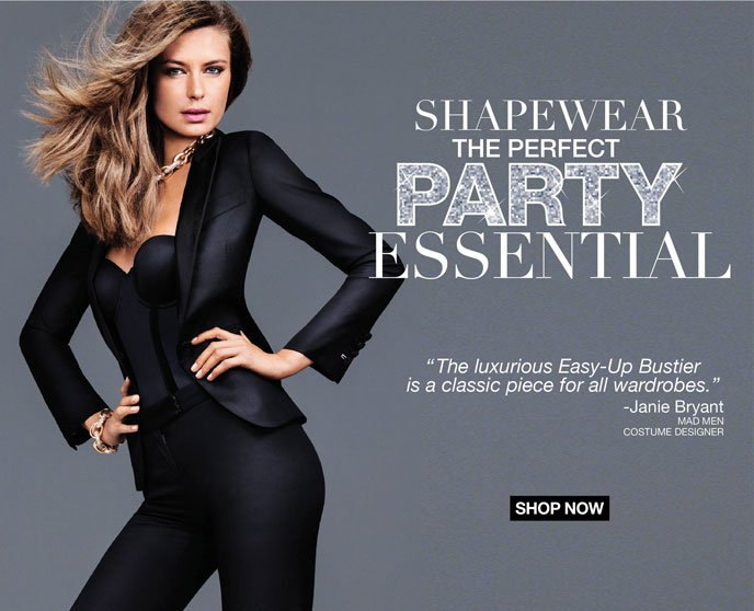 Shapewear the Perfect Party Essential.