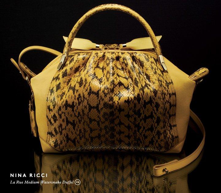 Go for the gold: Shop Nina Ricci handbags