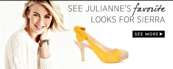 See Julianne's Favorite Looks For Sierra