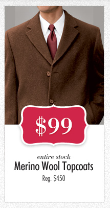 Merino Wool Topcoats