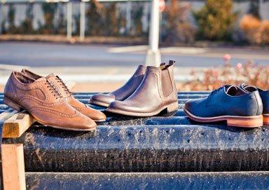 Shop Base London Leather Boots & Shoes