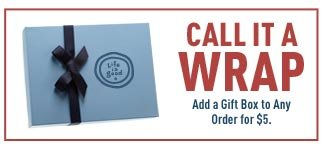 Gift Wrap your Order for just $5