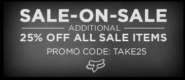 Sale On Sale - Additional 25% Off