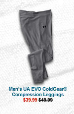 MEN'S UA EVO COLDGEAR® COMPRESSION LEGGINGS - $39.99