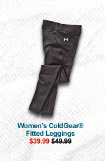 WOMEN'S COLDGEAR® FITTED LEGGINGS - $39.99