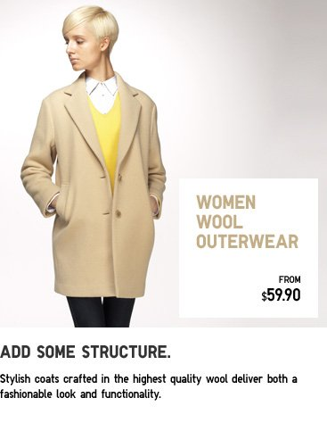 WOMEN WOOL OUTERWEAR