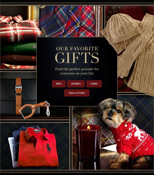 Our Favorite Gifts