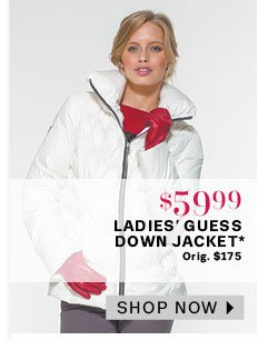 Ladies' Guess Down Jacket