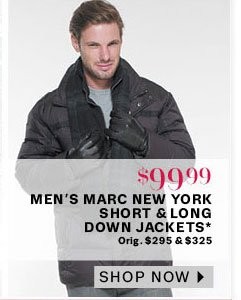 Men's Marc New York Short and Long Down Jackets