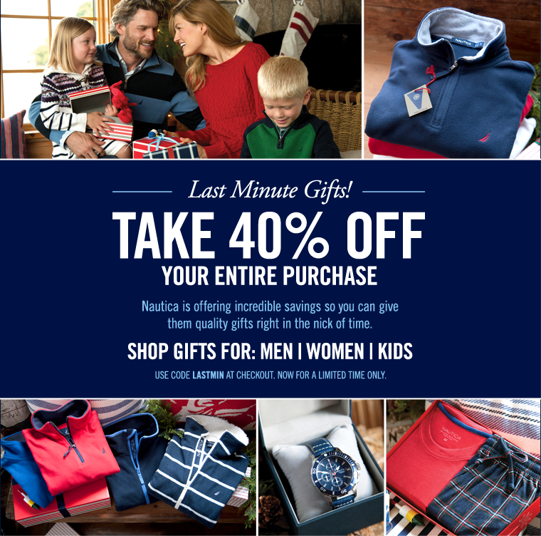 Take 40% OFF your entire purchase!