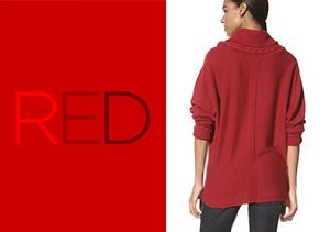 Shades of Red: Jeans, Sweaters & More