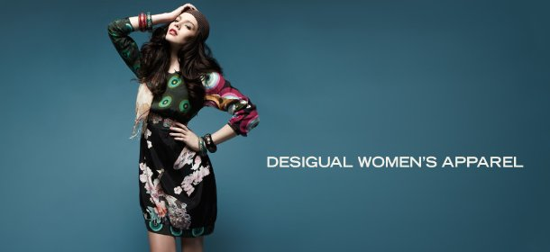 DESIGUAL WOMEN'S APPAREL, Event Ends December 19, 9:00 AM PT >