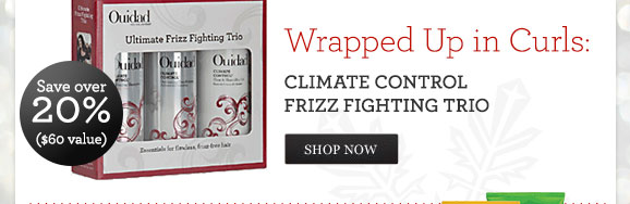 Wrapped Up in Curls: Climate Control Frizz Fighting Trio - Save over 20% ($60 value) - SHOP NOW