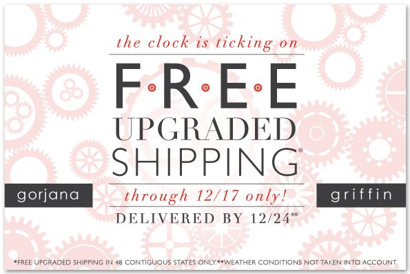 Free Upgraded Shipping