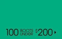 100 BOOTS UNDER $200