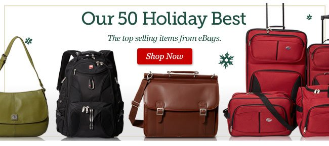 Our Holiday Best: The 50 Bestselling items from eBags