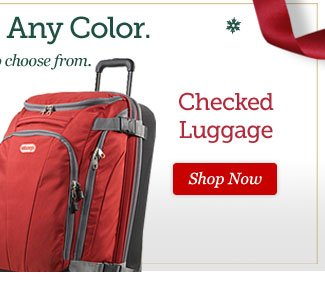 Shop Checked Luggage