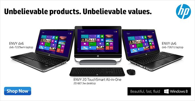 HP-unbelievable products at great values