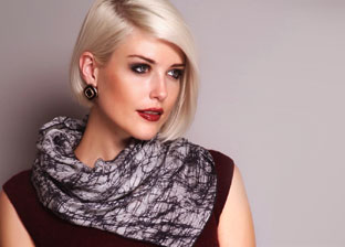 Designer Scarves: Fendi, Just Cavalli, Versace