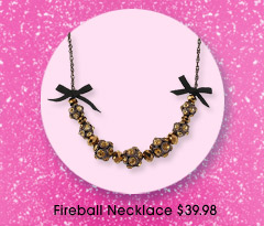 Fireball Necklace