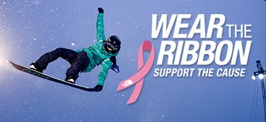 WEAR THE RIBBON SUPPORT THE CAUSE