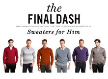 The Final Dash Sweaters for Him