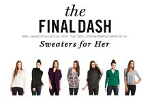 The Final Dash Sweaters for Her