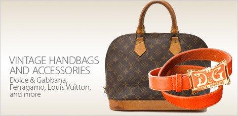 Vintage Handbags & Accessories