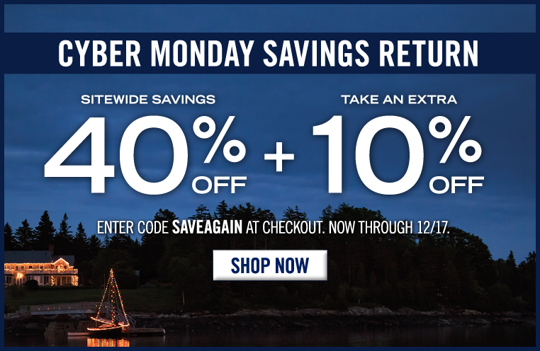 Cyber Monday Is Back! Take 40% Off Sitewide + an EXTRA 10% Off Your ENTIRE Order! Limited Time Only. Use code SAVEAGAIN at checkout.        Don't miss your chance to gift and save! Choose from a wide variety of our most exceptional items for quality gifts you'll love to give and they can't wait to receive.