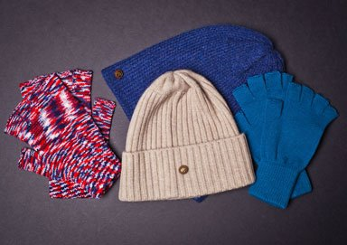 Shop Winter Warmers: Hats, Gloves & More