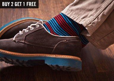 Shop 3-Pack Patterned Socks & More