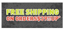 Free Shipping on Orders $39.99 and up!