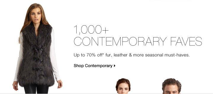 1,000+ CONTEMPORARY FAVES