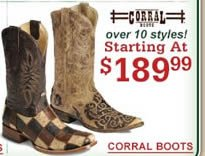 Corral $189.99
